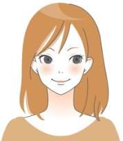 微笑み_ベージュ